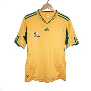 Adidas South Africa Yellow Soccer Jersey